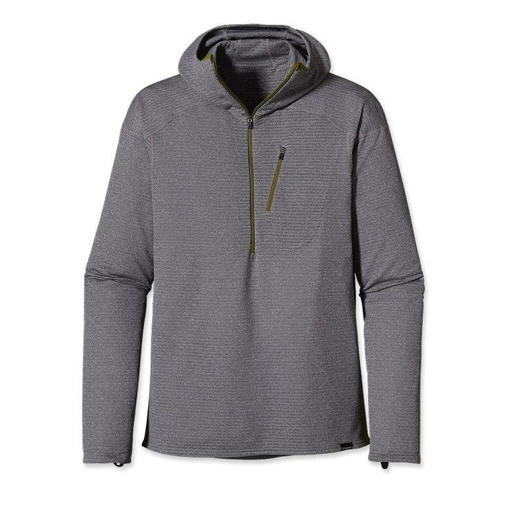 Patagonia Men's Capilene® 4 Expedition Weight 1/4 Zip Hoody Long Underwear  $120