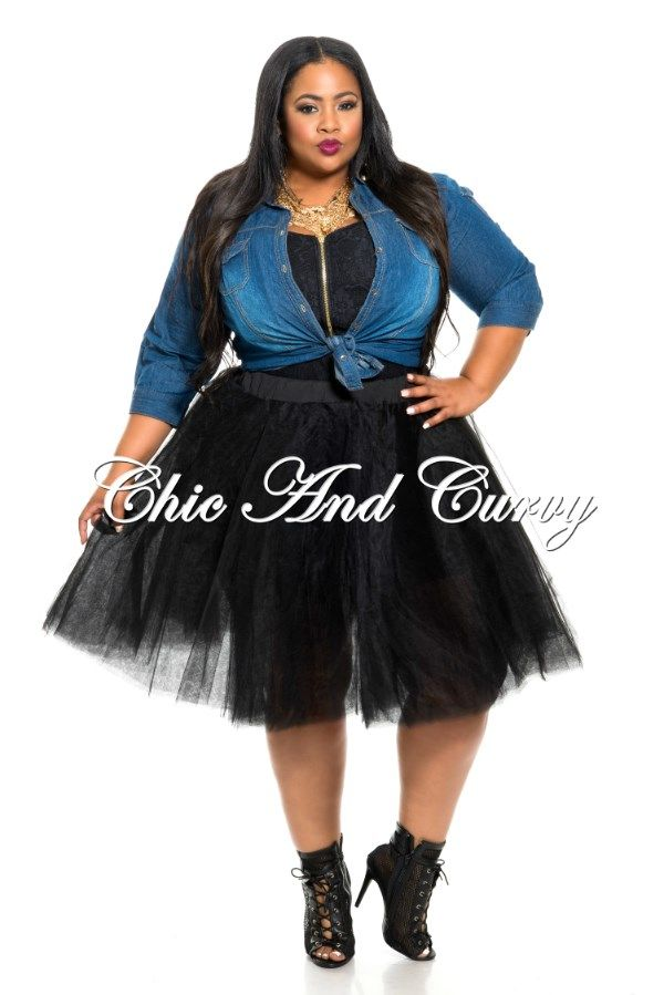 Tutu skirt in black