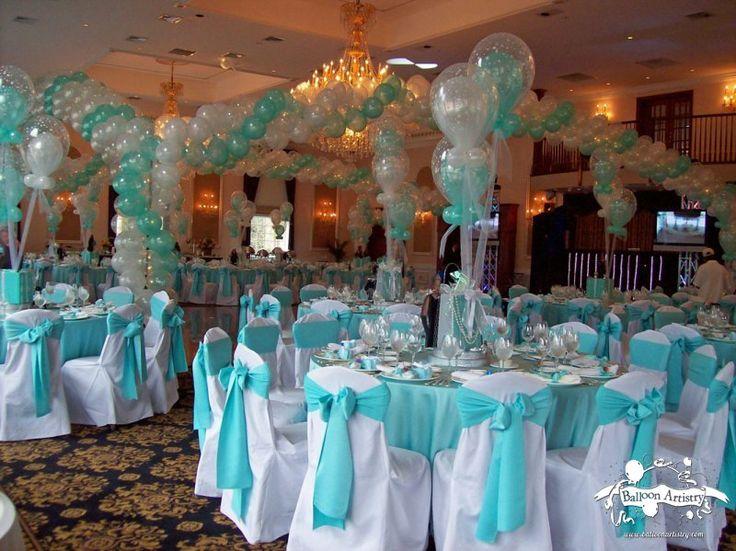 Tiffanys Themed Party Decor