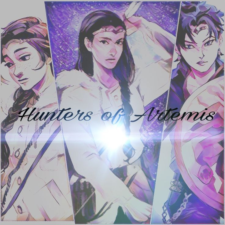 The hunters of Artemis. Zoe Nightshade, Bianca Di Angelo, and Thalia Grace. Art: Vira Editing: malloryyy.miller (Me) If you want any edit done for PJO/HOO, Harry Potter, Divergent, or Hunger Games comment what you want!