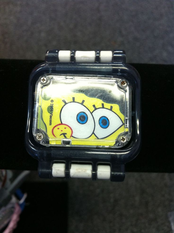 Spongebob Digital Flip Watch....Strap is REVERSIBLE! -  RARE