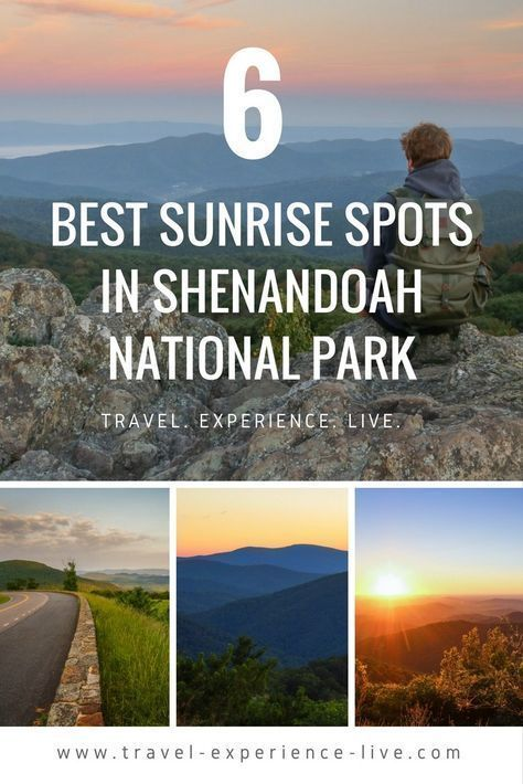 Best Places to Watch the Sunrise in Shenandoah National Park, Virginia