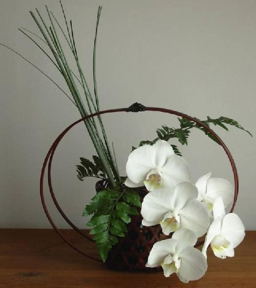 Ikebana (the art of flower arranging) - I learned a little when I was on exchange in Japan.  I love it.