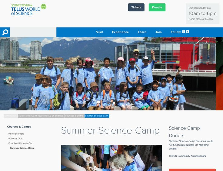 In this camp you will get to see if some common beliefs are scientific facts or myths.  Using the scientific method campers will test wild and crazy experiments.