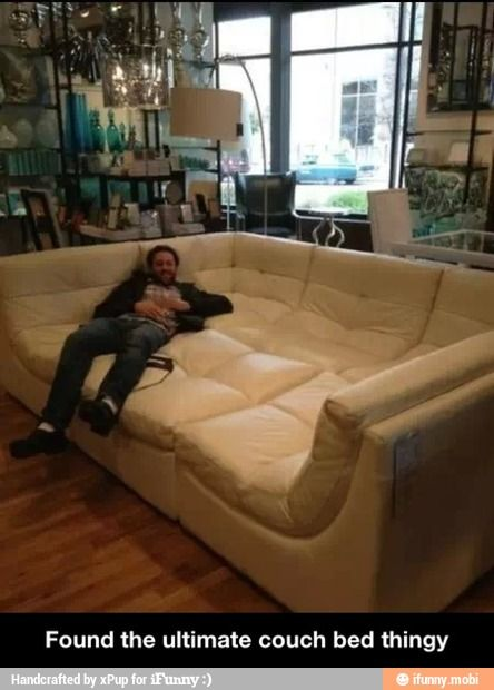 Ultimate couch I wish I had this