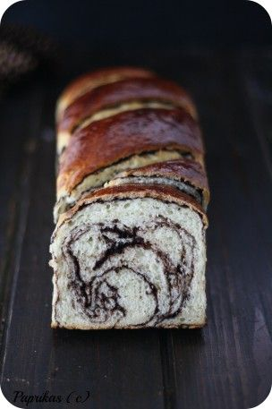 Brioche Marbrée au Chocolat