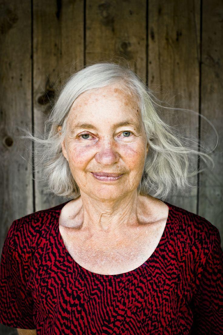 Lena Cronqvist med vind i håret
