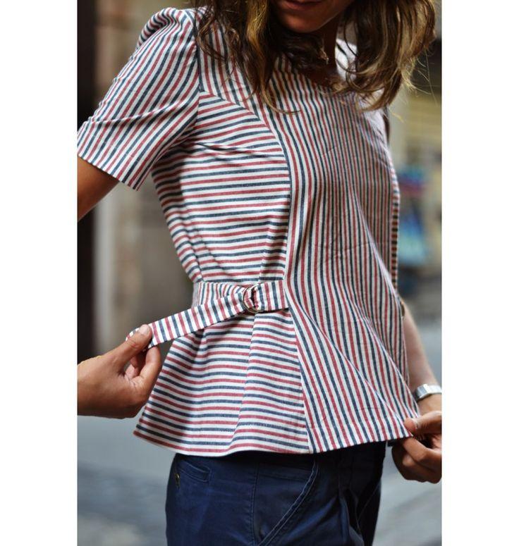 top & robe Faura PDF Pattern