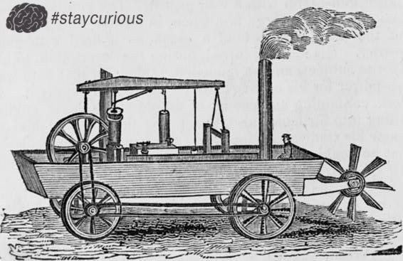 The Worlds first self-propelled Amphibious Vehicle was a Carriage, back in 1805 https://curionic.com/blog/the-worlds-first-self-propelled-amphibious-vehicle-was-a-carriage-back-in-1805?utm_content=buffer87402&utm_medium=social&utm_source=pinterest.com&utm_campaign=buffer #staycurious #facts #fact