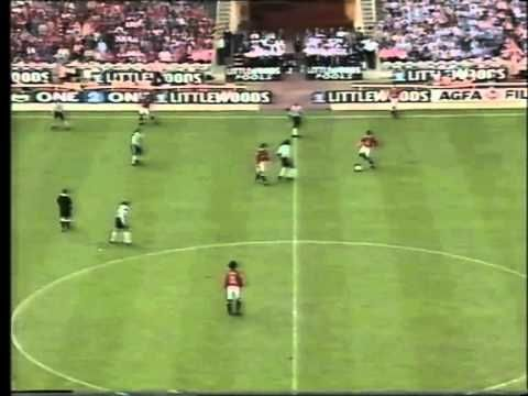 Manchester Utd -Newcastle... Charity Shield 1996.Part 2.