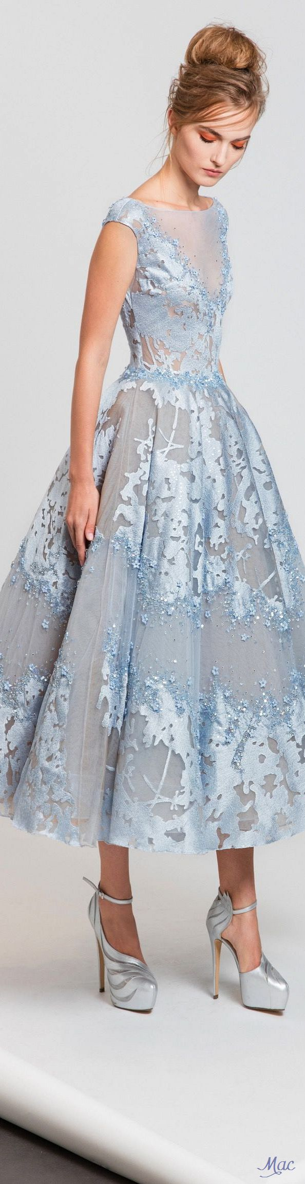 368 best Tea Length Wedding Dresses images on Pinterest | Wedding ...