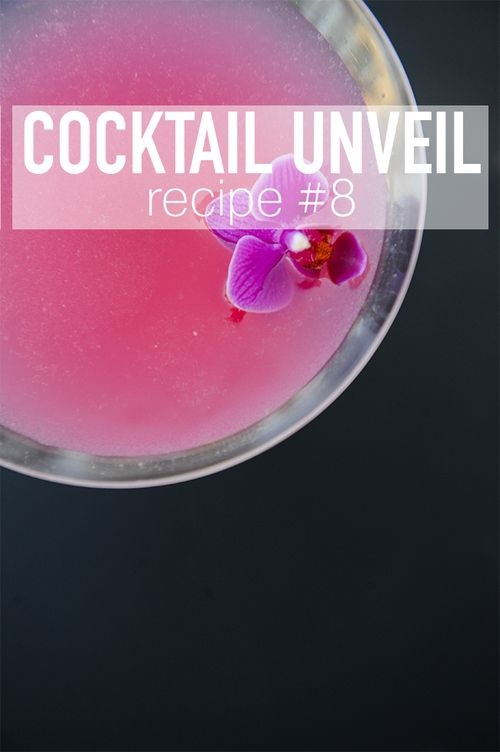 How to make a delicious Radiant Orchid Martini / McCune Photography / Summer Cocktail Ideas / Cocktail Unveil
