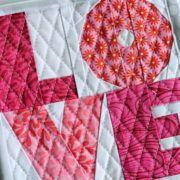 Love - Free Beginner Paper Piecing Pattern - PDF -