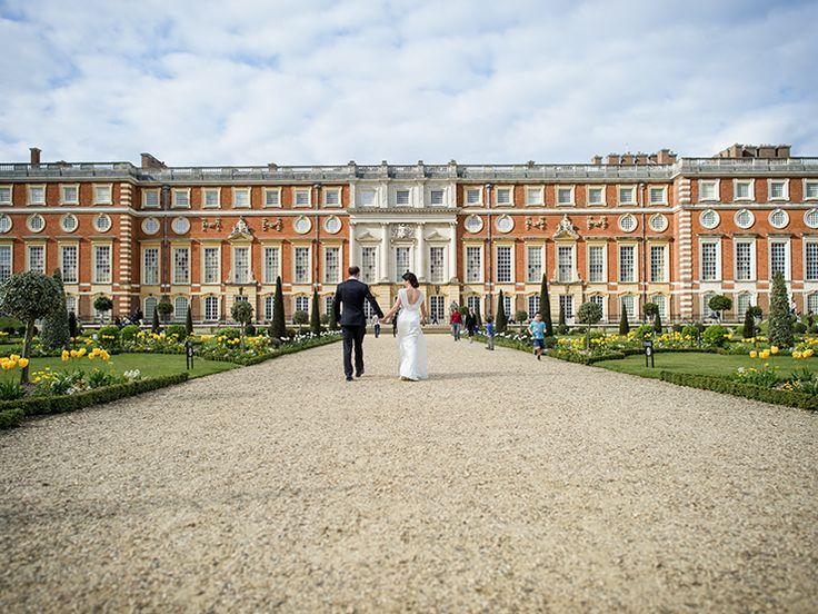 London Wedding Photographer - Hampton Court Palace