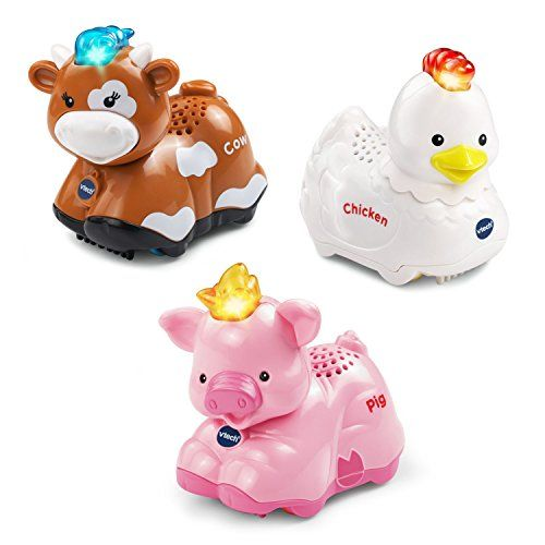 VTech Go! Go! Smart Animals - Farm Animals 3-pack * You can find more details by visiting the image link.