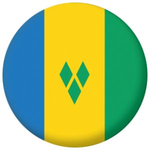 St Vincent Country Flag