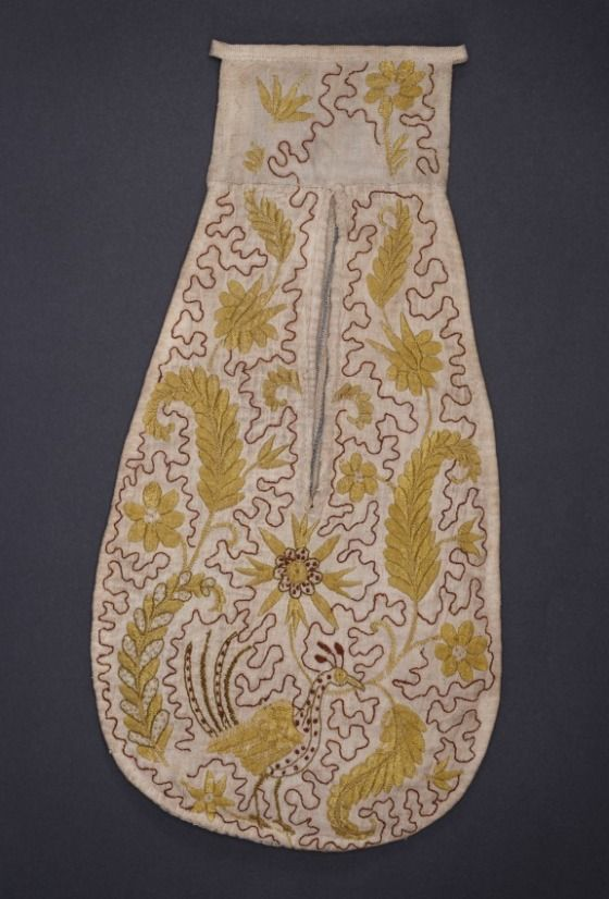 Woman's Pockets England, mid-18th century