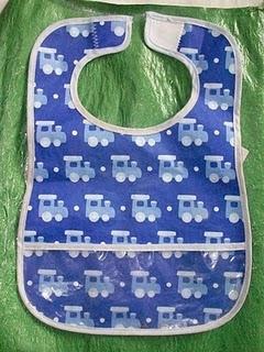 Fused Plastic Bib