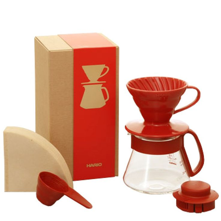red v60 dripper set