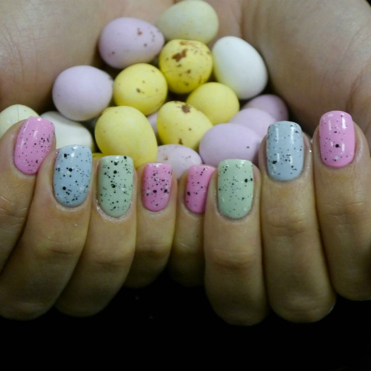 Easter Nails by Ilex Wood @ Red10 Nail Bar