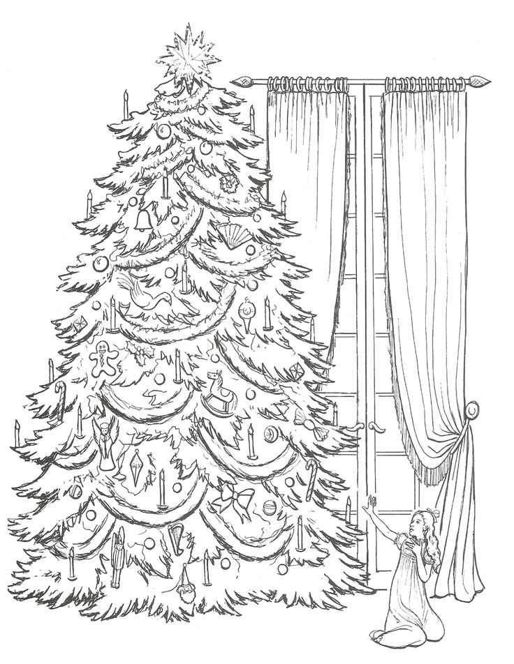 nutcracker clare coloring pages - photo#5