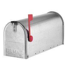 Boîte aux lettres rénovation 1 porte DECAYEUX Chicago, aluminium gris