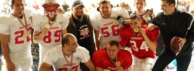 Cluj Crusaders – Cluj Crusaders la Editia a IV-a a Maratonului International Arobs Cluj-Napoca