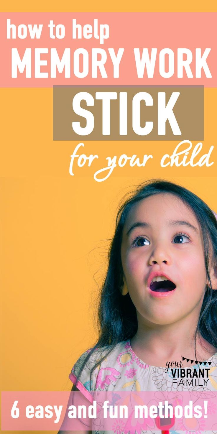 6 Easy (and Fun!) Ways to Help Memory Work Stick for Kids