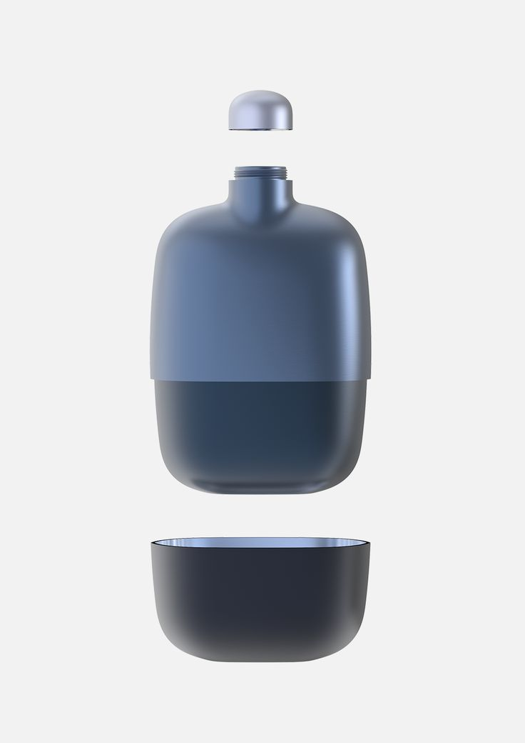 Scholten & baijings designed a travel flask for Nonino