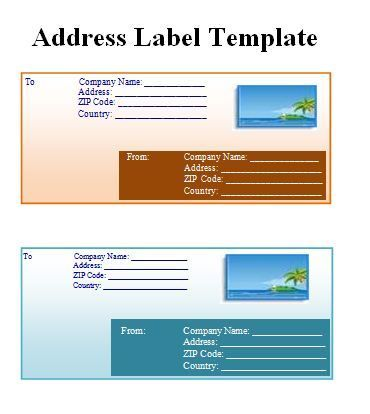 Best 25 address label template ideas on pinterest print for Package address label template