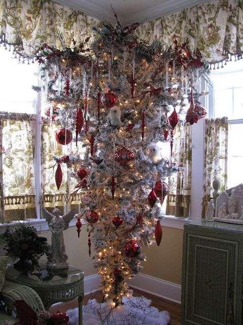 Albero Di Natale Yahoo.Albero Di Natale Bianco E Rosso Christmas In Icy Pink Alberi Di