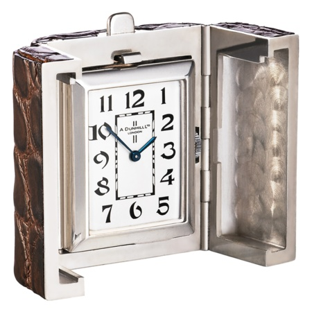 Alfred Dunhill Captive clock - Gift Guide - How To Spend It