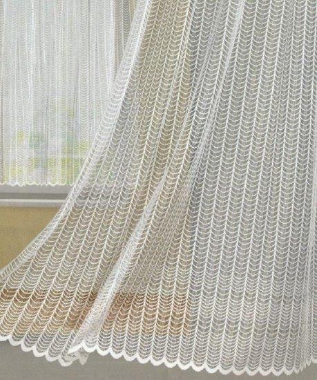 Függöny 125-030-05-0/76, fehér, 250 cm széles - Függöny méteráru 100 % PES - Függöny - Rea Tex Kézimunka Webáruház