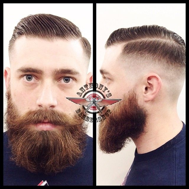Side Comb Fade Hairstyle Zero fade comb over styled