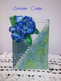 Il Bosco Incantato: Vaso decorato