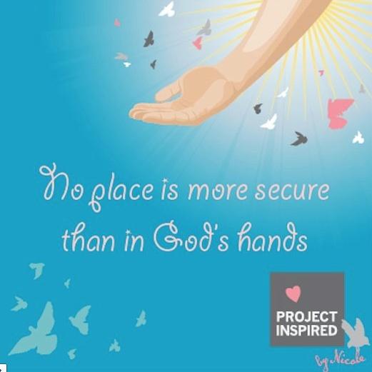 Krishna's hands..