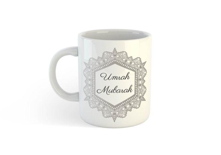 UMRAH MUBARAK (SILVER) MUG
