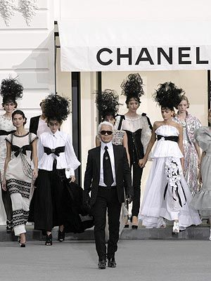 Karl Lagerfeld Works His Magic at Chanel