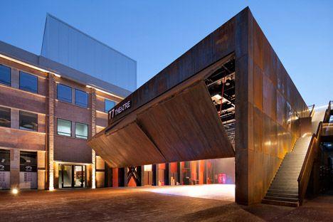 Abandoned Beijing factory transformedminto a theatre complex | Origin Architect