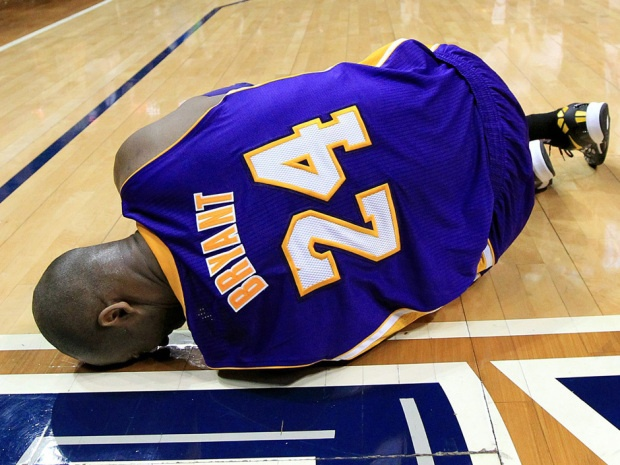 The Los Angeles Lakers will be without Kobe Bryant for the second game in a row when they face the Phoenix Suns on Monday night.