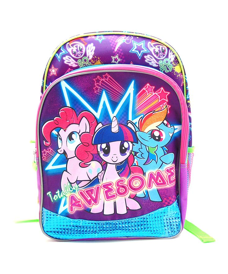 16'' My Little Pony Light Up Backpack