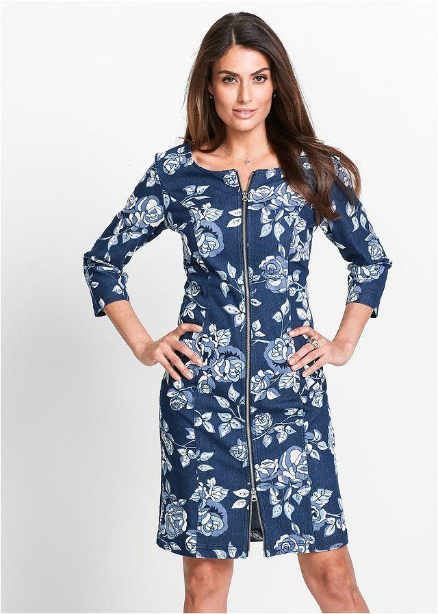 Sukienka dżinsowa Atrakcyjna sukienka • 159.99 zł • bonprix