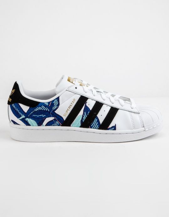 a37fc65c0602 ADIDAS Floral Superstar Womens Shoes