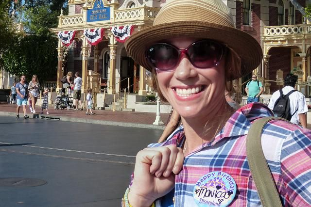How to Celebrate a Birthday at Disneyland: Monica Celebrates Her Birthday at Disneyland