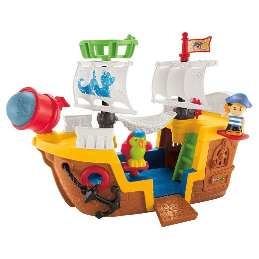 Fisher-Price Little People Pirate Ship | Pirate ships, Target and Fisher price
