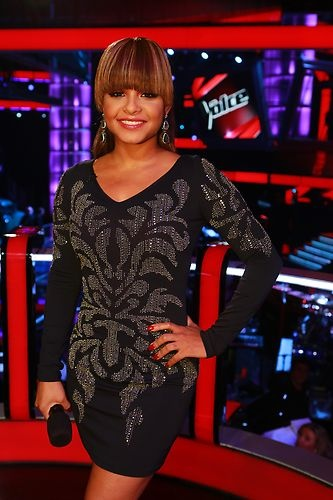 Loving the bangs! #TheVoice