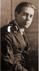 Borges todo el año: Jorge Luis Borges: Carta a Leopoldo - Marechal: Imagen: foto juvenil de Borges sin fecha