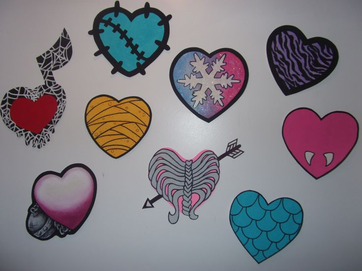 *ALL MURALS HAND PAINTED* Hand Painted Wallpaper Mural By Roxanne At: Www. Monster  High RoomMonster ...