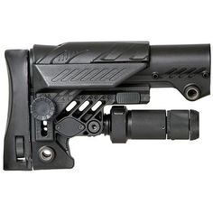 CAA Advanced Sniper Stock for AR-15/SR-25, Fully Adjustable Stock with Stability Pod, Black - Walmart.com