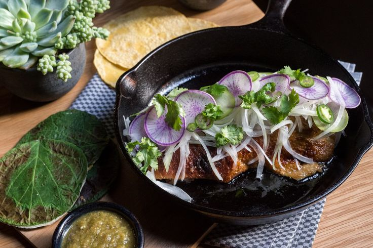 Duck carnitas at Cosme. I have NOT tried this yet, but everyone that's had it raves about how delicious this dish is. Also, this might be the most Instagrammed new dish of 2014. This pic is by one of the best photographers around. Sir Daniel Krieger.